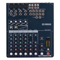 Mesa De Som Analógica 10 Canais 4 Xlr Rca Mg102c - Yamaha