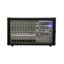Mixer Amplificado 9 Canais Phonic Powerpod 1062 Plus