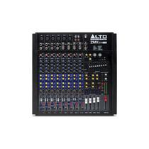 Frete Grátis - Alto Zmx124fxu Mixer De 12 Canais Efeitos Usb