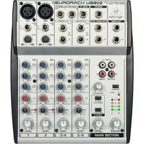 Mesa De Som Behringer Eurorack Ub802 Mixer 6 Canais Original