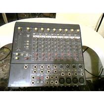 Mesa De Som Mackie Micro Series 1202 Vlz 12 Channel Mic/line