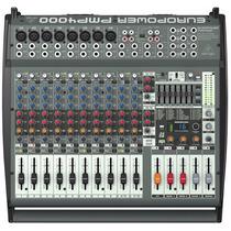 Pmp4000 Mesa De Som Amplificada Behringer Pmp 4000 C/ Efeito