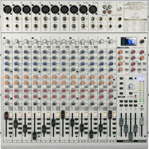 Mesa De Som Behringer Eurorack Ub2442fx-pro Mixer Dj