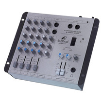 Mesa De Som Mixer Star 4 12v - 4 Canais/12 Volts