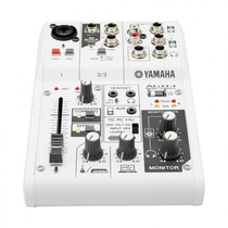 Mesa Análogica / Interface Yamaha Ag03 - Loja Bolero Music