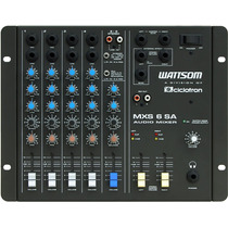 Mesa De Som Ciclotron Stereo 6 Canais Mxs 6 Sa Wattsom