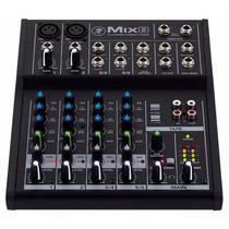 Mesa De Som Mackie Mix8 C/ 8 Canais - Loja Oficial Mackie