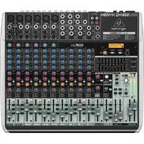 Mixer Xenyx Qx1832 Usb Efeitos E Equalizador - Behringer