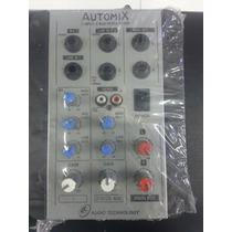 Mesa De Som Mixer Automix Ll A202r 12 Volts 2 Canais