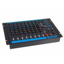 Mesa De Som Mixer Oneal Omx 8 Com 8 Canais Bivolt