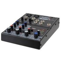 Mixer Alesis De 4 Canais Com Efeito Interface Usb Multimix 4