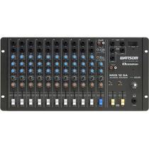 Mesa De Som Ciclotron Wattsom Mxs 12 Sa 12 Canais Stereo