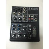 Mixer Mackie 402vlz4 C/ Fontes 110v E 220v (nova)