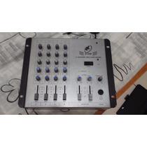 Mesa De Som Mixer Star Ll Star 4 Canais - Frete Gratis