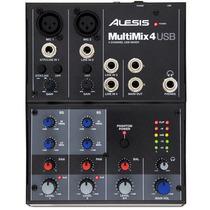 Mixer 4 Canais Interface De Áudio Usb Mm4 Alesis 2438