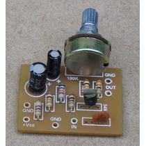 Pre Amplificador Para Microfone Dinâmico Ou Eletreto.