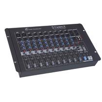 Mesa De Som Mixer Starmix Sa1002 D - 10 Canais - Ll Audio