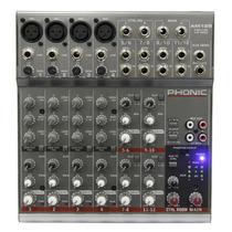 Am125: Mesa De Som 12 Canais Am 125 - Phonic