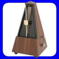 Metrônomo Analógico Mecânico Clássico Pirâmide Para Piano
