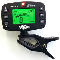 Afinador Metrônomo Cromático Digital Amt530 Santo Angelo