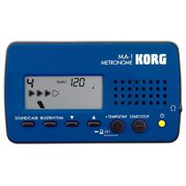 Korg Ma-1 Blbk - Metrônomo Digital + Nfe + 1 Ano De Garantia