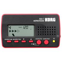 Korg Ma-1 Bkrd - Metrônomo Digital + Nfe + 1 Ano De Garantia