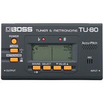 Afinador Eletrônico Boss Tu80 Na Cheiro De Música Loja !!