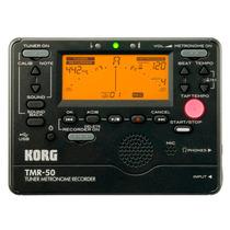 Korg Tmr-50bk - Metrônomo Afinador Gravador Digital Compacto
