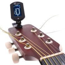 Afinador Clip Digital Cromático Violão Guitarra Baixo