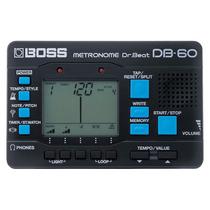 Metrônomo Boss Db60 Studio Som Joao Loja Fisica Nf Garantia