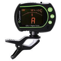 Afinador Eletrônico Digital Com Microfone Embutido Gtu-1 P