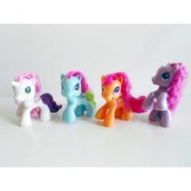 Coleção 4 Bonecos My Little Pony Mc Donalds Primeira Edição