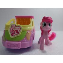 Carrinho Do Little Pony Com Um Pony Da Hasbro