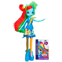 Boneca Rainbow Dash My Little Pony Equestria Girls - Hasbro