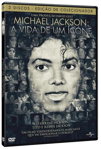 Michael Jackson - A Vida De Um Ícone - Dvd Duplo Lacrado
