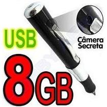 Caneta Espia 8gb Camera Filmadora Filma, Tira Fotos 1280x960