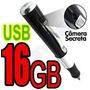 Caneta Espia Filmadora Camera + Brinde Sd 16gb Audio Video