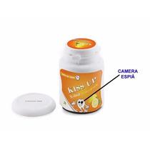 Pote De Balas Com Micro Câmera 8gb Micro Câmera Secreta
