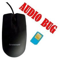 Micro Escuta Mouse Gsm Para Espionagem - Frete Grátis