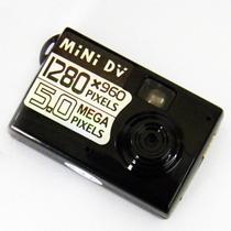 Mini Camera Filmadora Espia 5.0 Mp Deteccao De Movimento