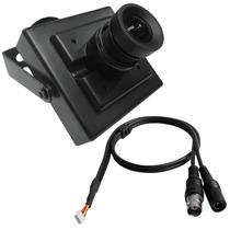 Mini Câmera Aprica Ccd Sony 600 Tvl Lente 3.6mm Frete Grátis
