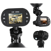 Camera Filmadora Para Carro, 1080p - Mini Dvr Veicular C/lcd