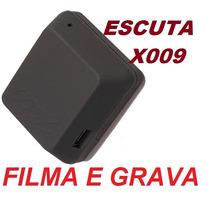 Micro Escuta Gsm X009; Grava Som E Imagem; Todas Operadoras.