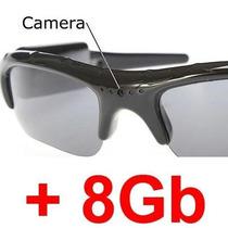 Óculos Espião Câmera Escondida Alta Resolução C/ Sd 8gb Game