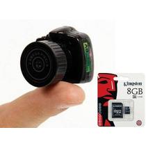 Micro Camera Espia + Cartão Kingston/ Menor Camera Filmagem