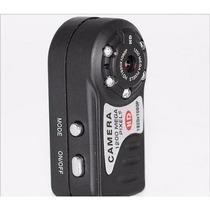 Mini Câmera Detetive/espiã Hd Com Visão Noturna