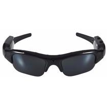Óculos De Sol Espião Micro Câmera E Filmadora Secreto