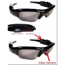 Oculos De Sol Espiao, Espiã Alta Resolução, Pen Drive, Filma