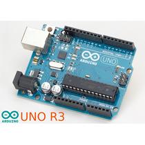 Placa Arduino Uno R3 + Cabo Usb Pronta Entrega! Novo!
