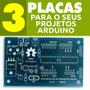 Placa Para Atmega328 P/ Seus Projetos Realizados No Arduino